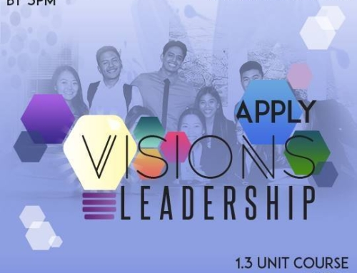 Apply for the ASUCI Visions Leadership Course!