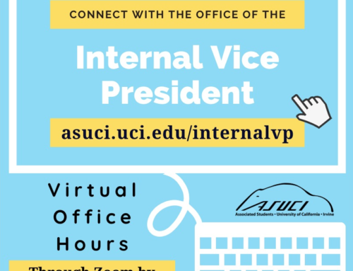 Spring Quarter Office of the Internal Vice President Office Hours